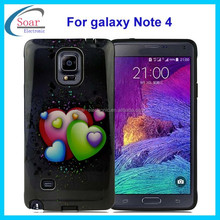 customized case for Samsung galaxy Note 4, design image combo phone case cover for Samsung galaxy Note 4