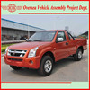 diesel fuel pick-up cars jinbei sy1028 model (skd kits assembly - easy to operate)