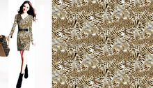 Shaoxing textile company Ocean wholesale high quality beautiful leopard printed fabric