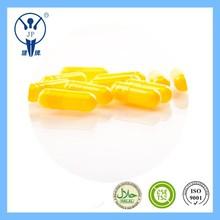 size 0 yellow Halal capsule