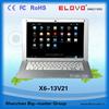 best low price cheap laptop 13'' wm8880 dual-core netbook laptop rohs