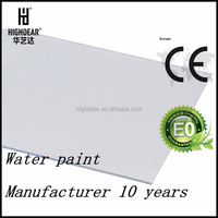 Eco green fragrant rot proof aluminum composite 5mm pvc indoor decorating boards