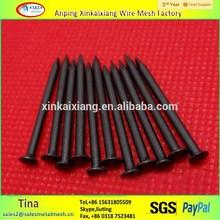 高strengh硬化黒色炭素鋼コンクリート釘( 工場)