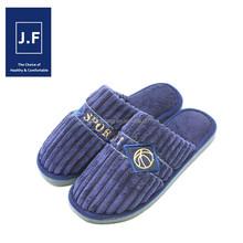 2015Hot sale indoor comfortable quiet warm cotton clog slipper