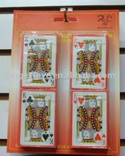 Blister packed Playing Cards