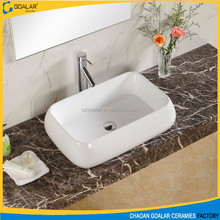 Modern Smooth Ceramic Basin for Table Art basin