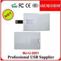 100pcs/lot 2GB Mini Flip Wallet Card Custom USB Flash Drive