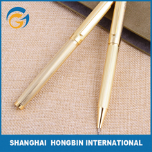 Classic Gold Colored Black Gift Metal Ball Pen