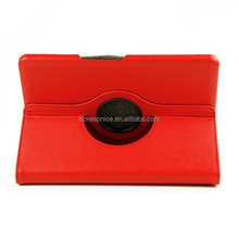 360 degree rotating stand leather cover case for Samsung Galaxy Note 10.1 P600