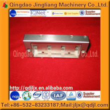 top quality custom oem cnc stainless steel machining part by drawings manufacturer in Qingdao