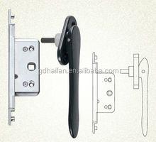 Collapsible Door Handle For Aluminium Bi-fold Doors With Driving Lock, Lock Case FZD001-5