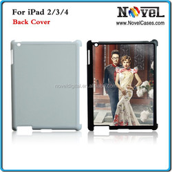 DIY sublimation paper Back Cover for iPad 2/3/4 Sublimation Blanks