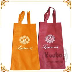 colorful non woven totes and bags