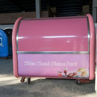 China supply cheap coffee vending kiosk food van/cart for sale