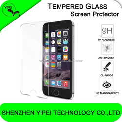 Premium Tempered Glass Screen Protector Film for iPhone 6 Plus, iPhone 5 and iPhone 4 and for Samsung s6 edge and Note 3