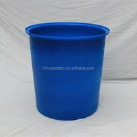 300l used blue plastic drums barrels for sale