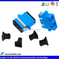 Factory Supply 2mm 3mm pc upc apc lc sc fiber optics adapter price