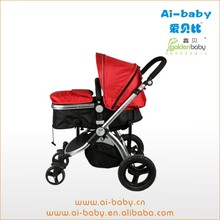 hot sales promotional cheap baby stroller 3 in 1 with carrycot and carseat