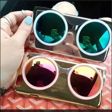 2015 new design 3D glasses shape case for iphone 6.unique special pc case for iphone 6 plus