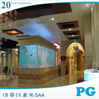 PG Stylish Customized Aquarium Fish Tank for Sale