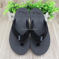 Newest Plain Black Flip Flops