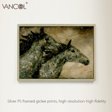 Factory sale handmade wild horse oil panting on canvas