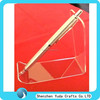 high crystal clear acrylic pen holder display manufacture direct sale pencil holder single acrylic pen display