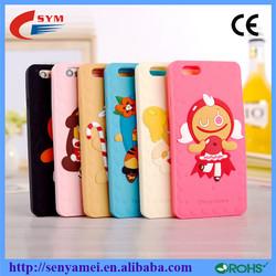 Minion Primitive people cartoon design for iphone 6 case silicone
