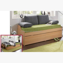 Wooden Sofa Bed Design, Folding Sofa Bed for Home