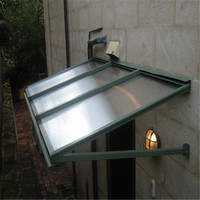 polycarbonate solid sheet balcony awnings top quality cheap price