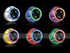D2S xenon bulbs 3.0 ' Double ccfl Angel Eyes hid Bi-xenon Projector Lens headlight