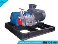 High pressure water plunger pump made in china