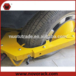 """High Quality China Manufacturer 145""""-285""""mm Security wheel clamp lock car tyre trailer"""