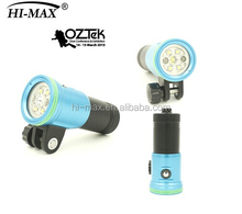 Super bright 2400lm Waterproof 100m rechargeable led torch light