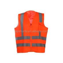 reflective nylon life vest promotion warning safe vest walking reflective vest