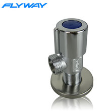 upc copper plated round brass water valve