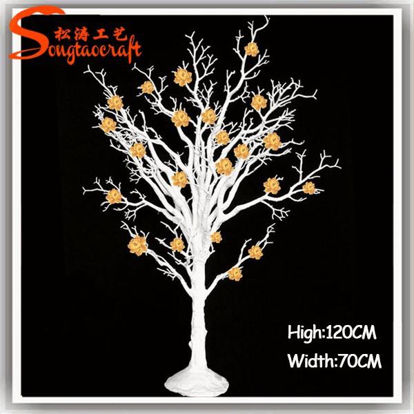 Int rieur de mariage arbre sec pour d coration color e sec - Decoration branche arbre ...