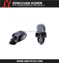 Jinyu exquisite colored zinc alloy metal skull beads for bangles