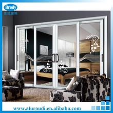 Double Glazing Horizontal Aluminum Sliding Door