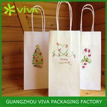 Factory produce custom printed 25kg kraft paper bag