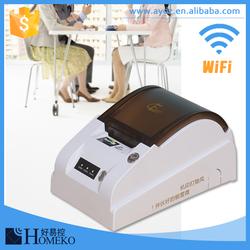 Heat transfer thermal embeded 8 dots/mm resolution mini printer