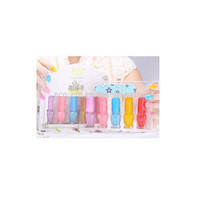Low MOQ Nail Polish Wholesale 5 Bottles * 5ml Mini Collection , Accept Mix Order Prompt Delivery