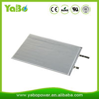 UL certificate 3.7V 501235 170mAh lithium polymer battery for wearable devices