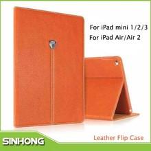 New 2015 Auto Sleep Cover Flip Leather Case For iPad Mini