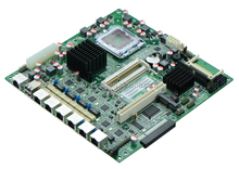 6 Lan Ethernet Bypass Routing motherboard , firewall motherboard ATX power supply