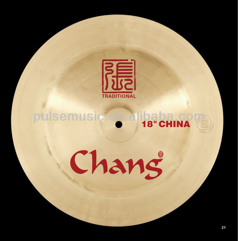 Chang B20 Traditional China Custom Cymbal For Drums, Chinese Instrument Musical Percussion