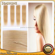 unprocessed wholesale fast delivery virgin human brazilian hair 100% human hair Micro Ring hair Loop Hiar