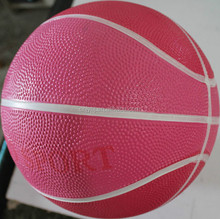 Excellent quality useful 2015 rubber promotion gift basketball