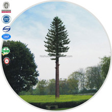 Camouflaged tree steel tubular tower artificial plants