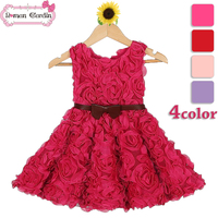 2014 Baby Frock Designs Birthday Dresses For Girls Flower Dresses For Girl Of 5 Years Old